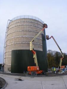 cladding silos