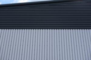 Steel cladding walls